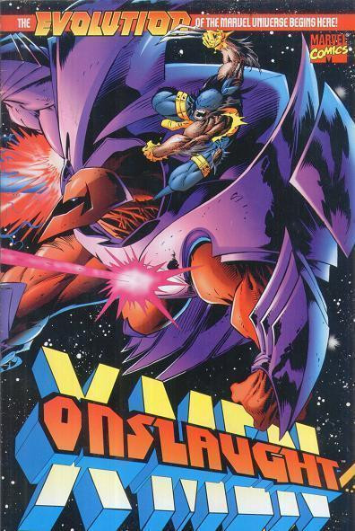 ONSLAUGHT: X-MEN #1 & ONSLAUGHT: MARVEL UNIVERSE #1 LOT OF 2 BOOKS 1996