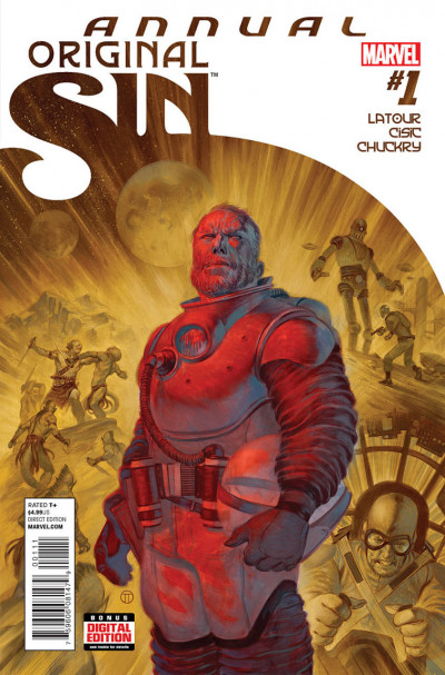 ORIGINAL SIN ANNUAL (2014) #1 VF/NM MARVEL NOW!