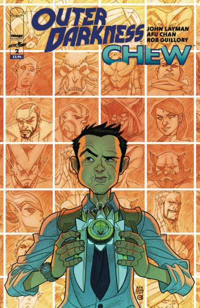 Outer Darkness/Chew (2020) #2 VF/NM Afu Chan Regular Cover Image Comics