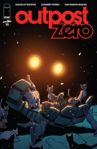 Outpost Zero (2018) #10 VF/NM Image Comics