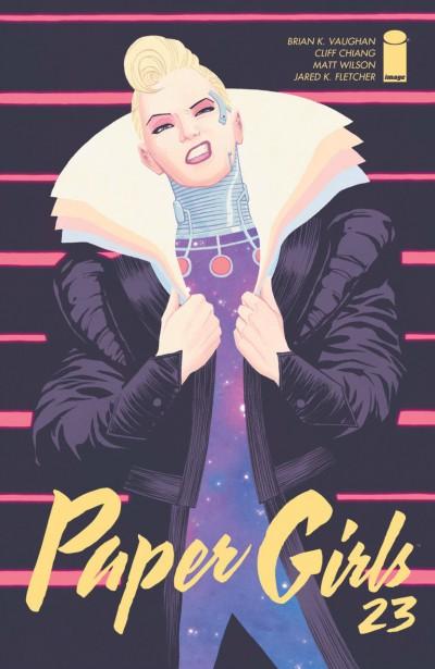 Paper Girls (2015) #23 VF/NM Brian K. Vaughan Cliff Chiang Image Comics