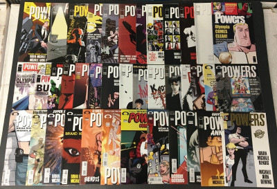 Power (2000) 1-37 + Annual + Wizard 1/2 39 comics total 1 23 24 signed by Oeming