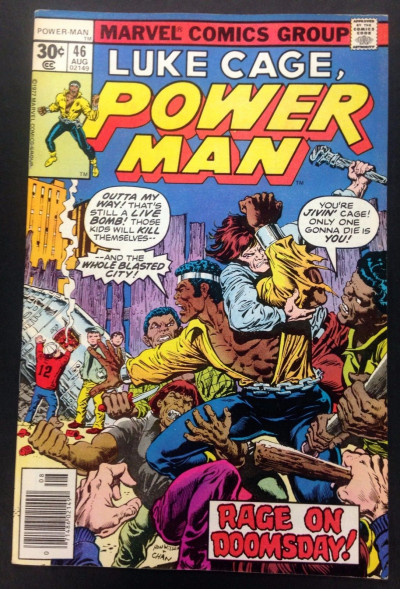 Power Man (1974) #46 VF (8.0) Luke Cage Hero for Hire