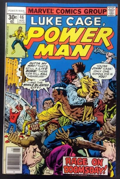 Power Man (1974) #46 VF+ (8.5) Luke Cage Hero for Hire
