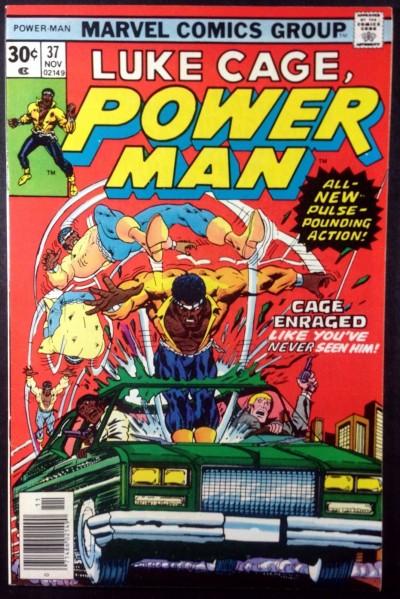 Power Man (1974) #37 VF (8.0) Luke Cage Hero for Hire