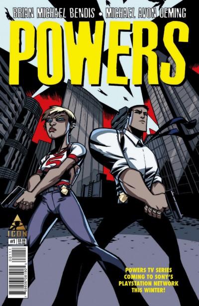 POWERS (2015) #1 VF/NM BENDIS OEMING ICON