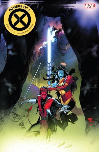 Powers of X (2019) #3 VF/NM-NM Secret Nightcrawler Magik Variant & Regular Cover