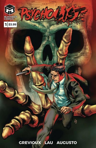 Psycho List (2019) #1 VF/NM Grevioux Lau 1st Printing Sold Out Blackbox Comics