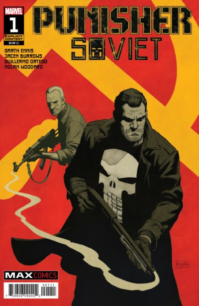 Punisher: Soviet (2019) #1 VF/NM Paolo Rivera Cover Garth Ennis