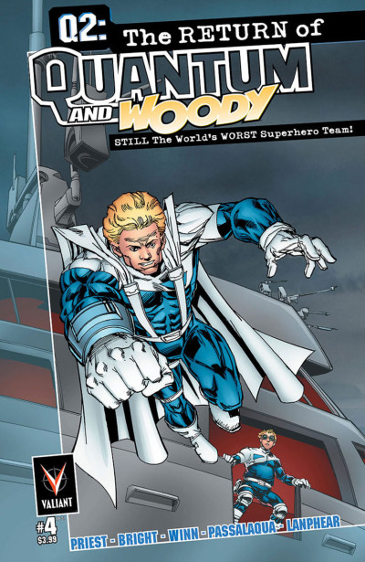Q2: THE RETURN OF QUANTUM AND WOODY (2014) #4 VF/NM COVER A VALIANT COMICS