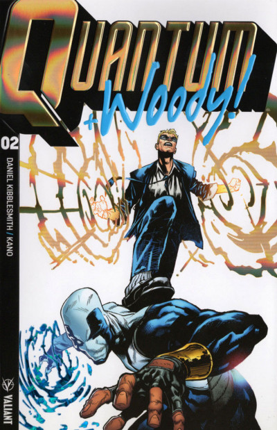 Quantum and Woody! (2017) #2 VF/NM Ultra Foil Cover B Valiant