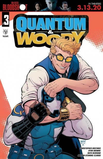 Quantum and Woody (2020) #3 VF/NM Will Robson Cover Valiant