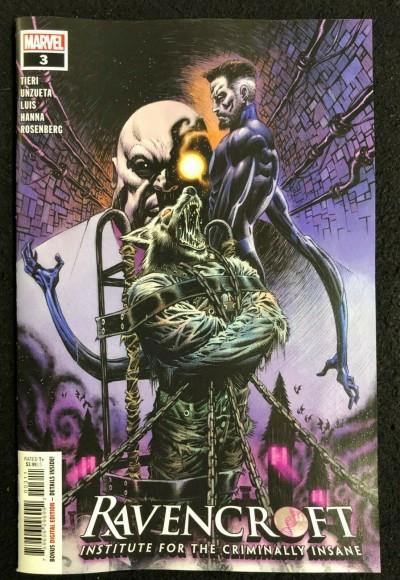 Ravencroft (2020) #3 NM (9.4) Institute For The Criminally Insane Marvel Comics
