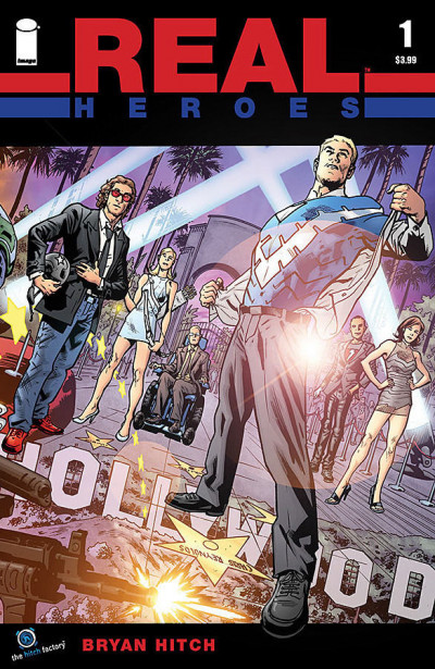 REAL HEROES (2014) #1 VF+ COVER A BRYAN HITCH FRANK CHO COVER IMAGE COMICS