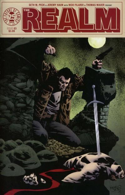 Realm (2017) #3 VF/NM Kelley Jones Cover Image Comics