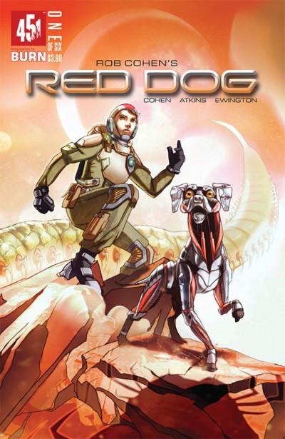 Red Dog (2016) #1 of 6 VF/NM W. Scott Forbes 451 Media Comics