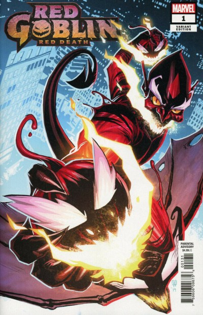 Red Goblin: Red Death (2019) #1 VF/NM 1:25 Peter Woods Variant Cover