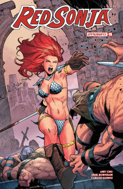Red Sonja (2016) #19 VF/NM Sean Chen Cover Dynamite