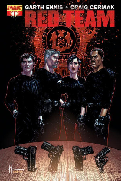 RED TEAM #1 NM COVER B GARTH ENNIS DYNAMITE ENTERTAINMENT