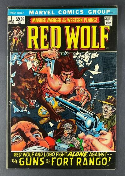 Red Wolf (1972) #1 FN/VF (7.0) 1st App Running Buck / Red Wolf Gil Kane Art