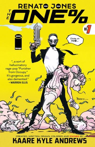 Renato Jones The One% (2016) #1 VF/NM Kaare Kyle Andrews Image Comics