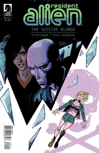 RESIDENT ALIEN: THE SUICIDE BLONDE #1 OF 3 VF/NM DARK HORSE COMICS