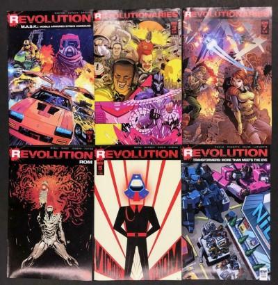 Revolution/Revolutionaries M.A.S.K. Rom Transformers Lot of 6 VF- Books IDW