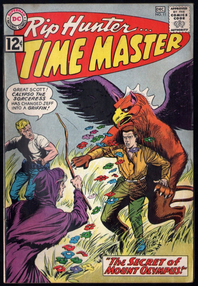 Rip Hunter Time Master (1961) #11 FN+ (6.5)
