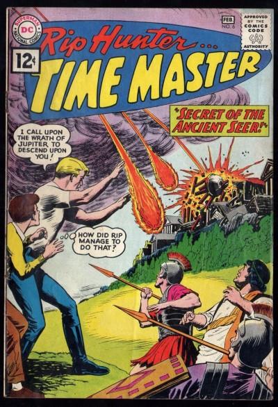Rip Hunter Time Master (1961) #6 FN- (5.5) Alex Toth Art