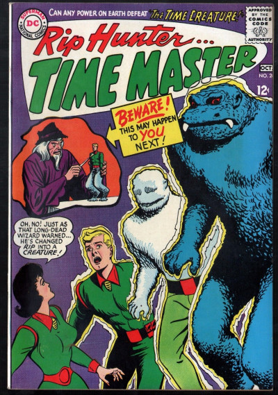 Rip Hunter Time Master (1961) #28 VF- (7.5)