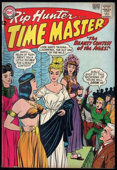 Rip Hunter Time Master (1961) #21 FN/VF (7.0)