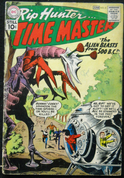 RIP HUNTER TIME MASTER #2 VG-