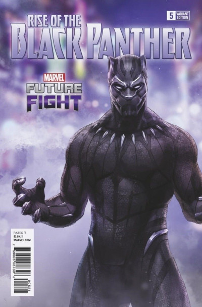 Rise of the Black Panther (2018) #5 VF/NM Marvel Future Fight Variant Cover