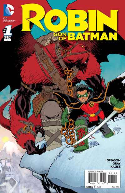 ROBIN: SON OF BATMAN (2015) #1 VF/NM