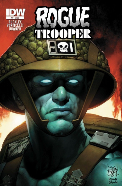 ROGUE TROOPER (2014) #1 VF IDW GLENN FABRY COVER