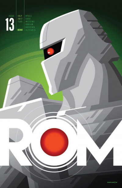 Rom (2016) #13 VF/NM Whalen Variant Cover IDW