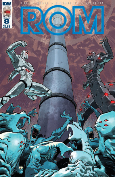 Rom (2016) #8 VF/NM Nelson Daniel Cover IDW