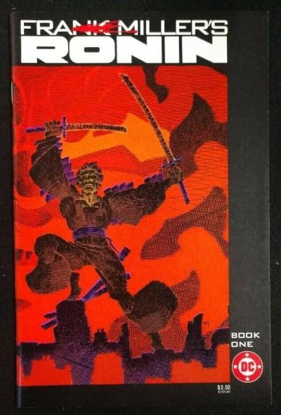 Ronin (1983) #'s 1 2 3 4 5 Near Complete VF - VF+ Set Frank Miller Art