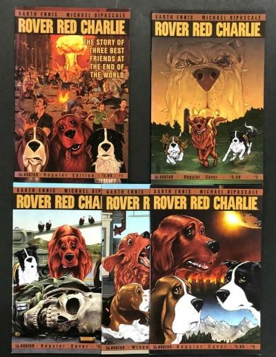 Rover Red Charlie (2013) #'s 1 3 4 5 6 Near Complete VF/NM Garth Ennis Avatar