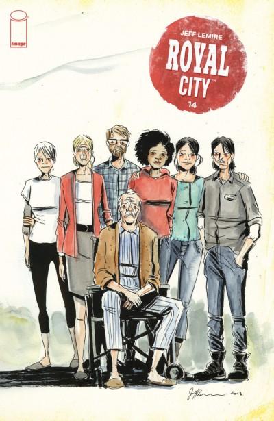 Royal City (2017) #14 VF/NM Jeff Lemire Image Comics