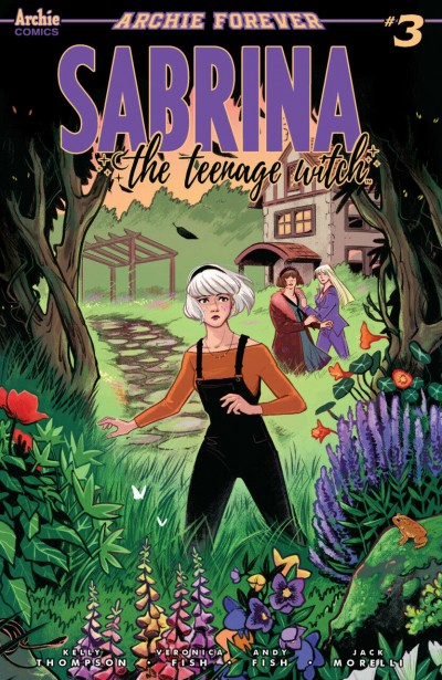 Sabrina the Teenage Witch (2019) #3 VF/NM Veronica Fish Cover Archie