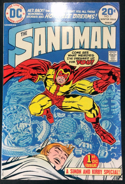 Sandman (1974) #1 FN- (5.5) Simon and Kirby their last collaboration