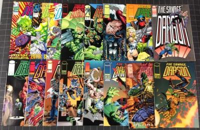 Savage Dragon(1992) #'s 1-73 + MORE lot of 80 COMICS Superman Hellboy