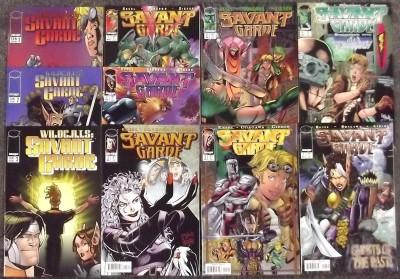 SAVANT GARD 1997 IMAGE COMICS COMPLETE NM SET OF 7 + SPECIALS WILDCATS