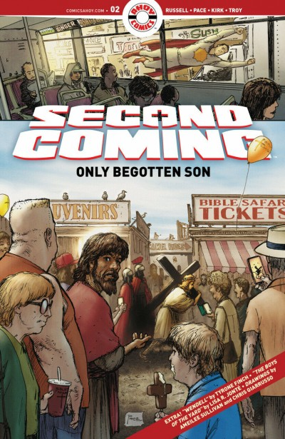 Second Coming: Only Begotten Son (2021) #2 VF/NM Ahoy Comics