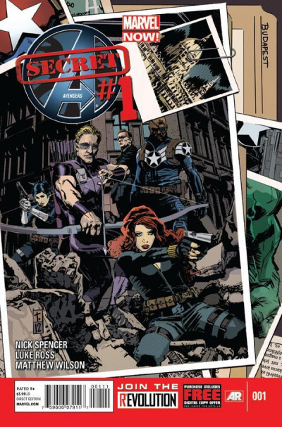 SECRET AVENGERS (2013) #1 NM MARVEL NOW!