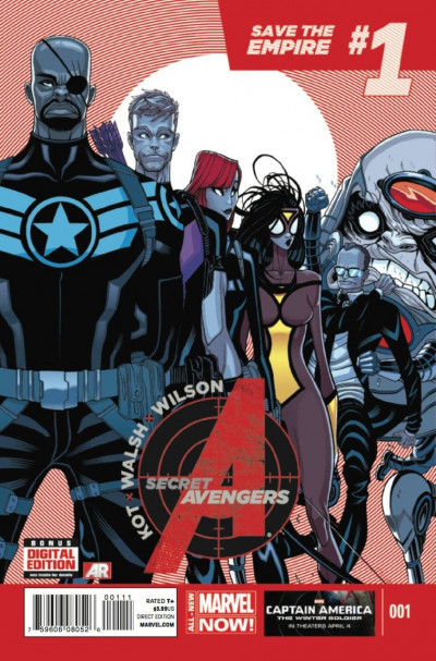 SECRET AVENGERS (2014) #1 VF/NM MARVEL NOW