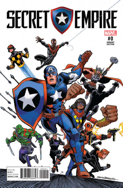 Secret Empire (2017) #0 VF/NM Ron Frenz Variant Cover