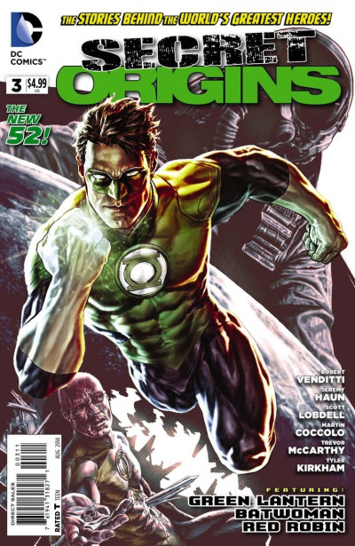 Secret Origins (2014) #3 VF/NM Lee Bermejo Hal Jordan Cover