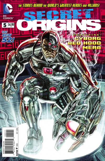 Secret Origins (2014) #5 VF/NM Lee Bermejo Cyborg Cover